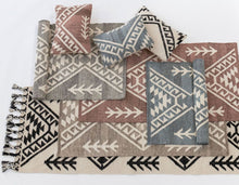Full range of Morroccan inspired rugs and cushions by Oh Happy Home