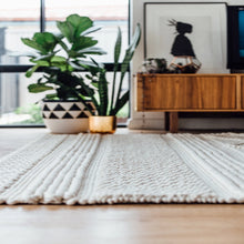 Jasper Knit Rug Natural - Happy as Larry