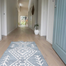 Mari Wool Runner by OHH Used As Entrance Mat