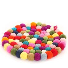 Smartie Round Trivet - Happy as Larry