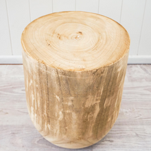 Maddox Timber Stool/Side Table