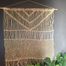 Wall Hanging with Hemp Twine - Happy as Larry