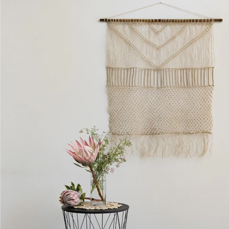 Wall Hanging Hemp twine