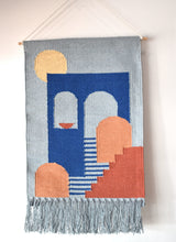 Woven Wall Wall Hanging - Blue
