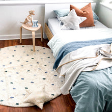 Boys Room Rug Dots
