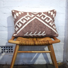 Cherry Rust Wool Cushion