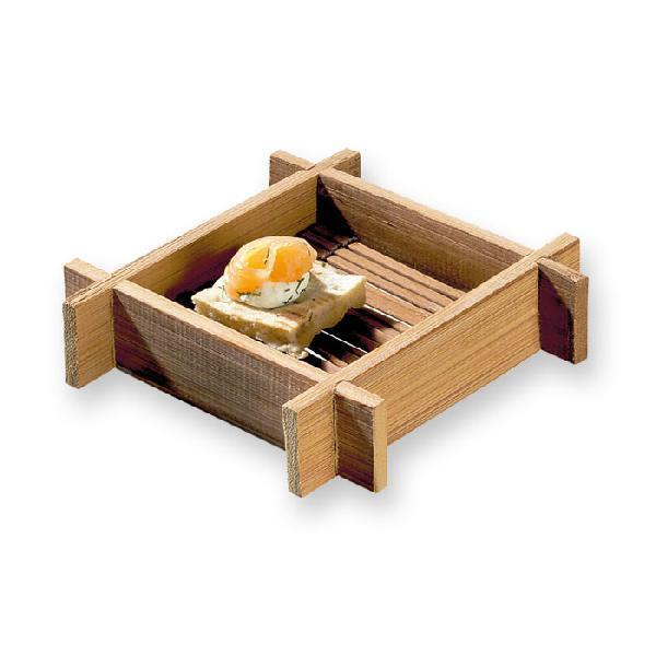 CLEARANCE: HANAKO Mini Bamboo Square Tray