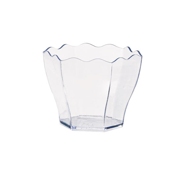 Waved Top Mini Cup  5cm/2""
