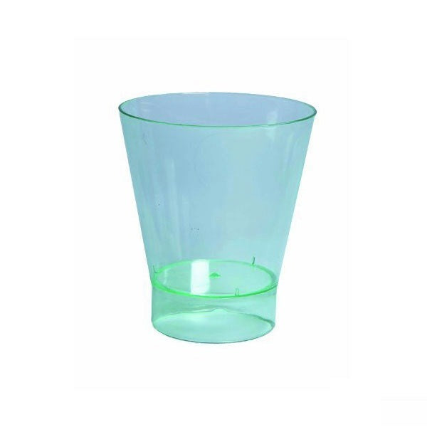 PAVLOS Clear Green Mini Round Cup 7 oz