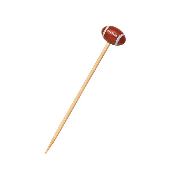 Bamboo Football Skewer