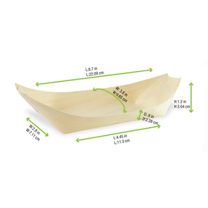 Medium Wood Boat Size 23