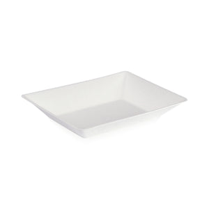 Eco-Design Sugarcane Plate, 170x140mm