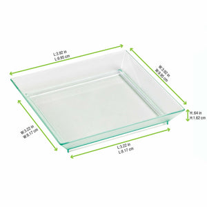 KLARITY Square Mini Transparent Dish