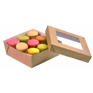 Brown Kray Box with Window Lid - 135mm