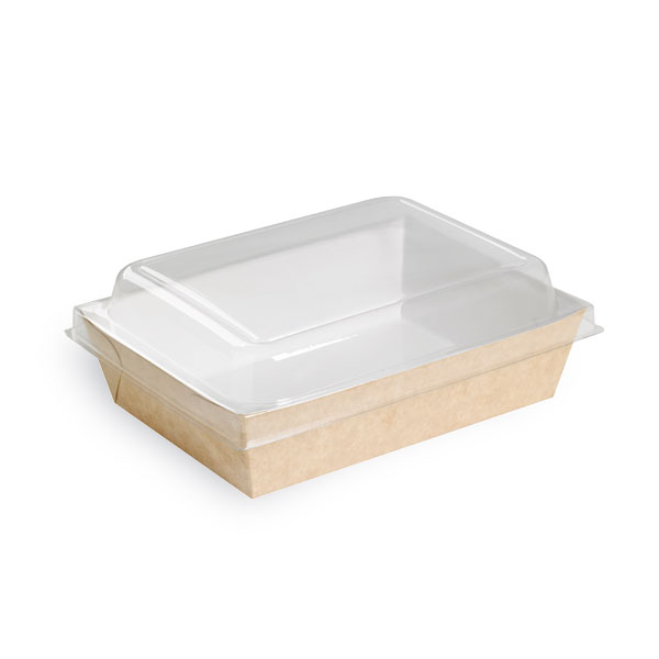 Brown Paper Salad Box