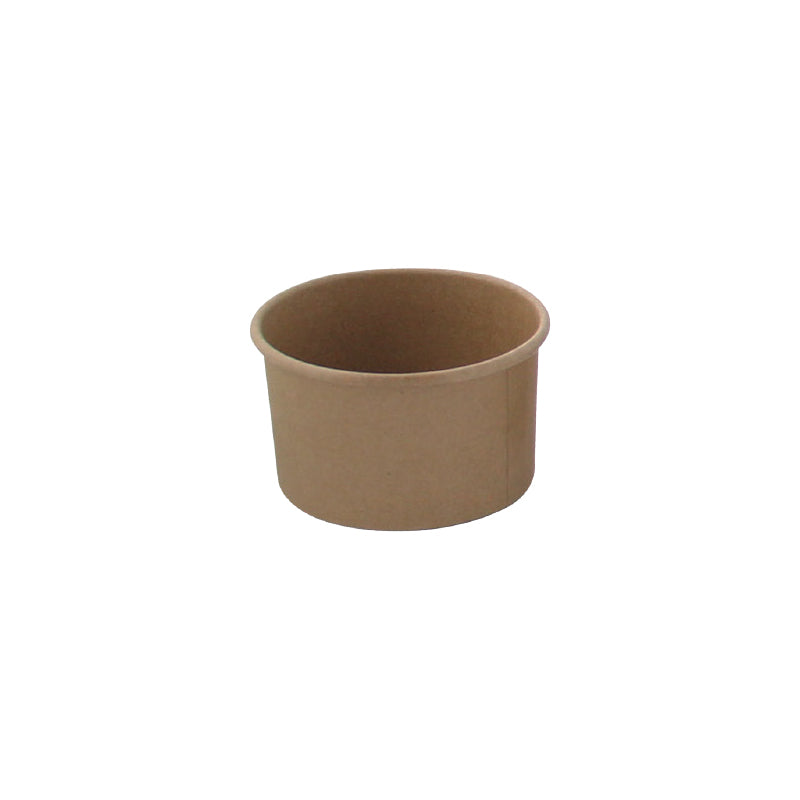 Brown Kraft Hot & Cold Paper Cup - 3 oz