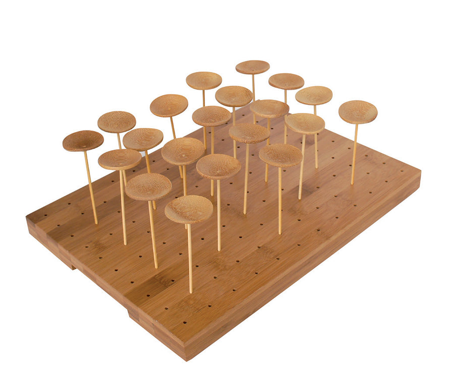 Bamboo Holder for Skewers 120-holes
