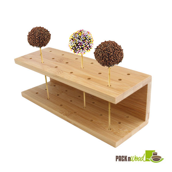 Bamboo Cake Pop Stand