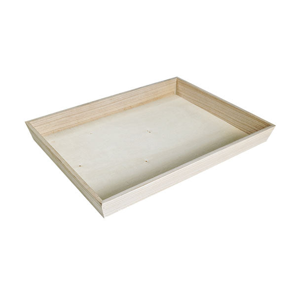 NOAH40 Heavy Duty Wooden Tray 15.4 x 11.4 in.