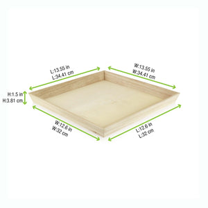 Noah Heavy Duty Wooden Tray, 3 sizes