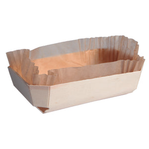 Juliette Wooden Baking Mold - 26 oz 7.4 x 4 x 2""