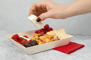 Luxury Red Wine Cotton Table Napkin (Reusable)