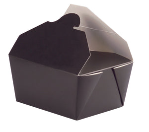 "Black Meal Box Size 2 - (8.5x6.3"") 33oz"