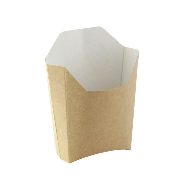 Small Kraft French Fry Pails 4.7 x 3.7 x 4.9""