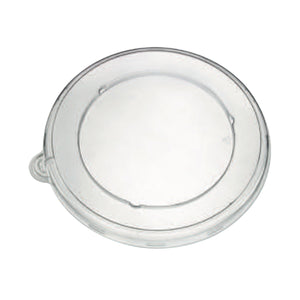 Clear PLA round lid - D: 7.7 in