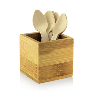 Small Wooden Cutlery  Spoon - L: 5.5 in