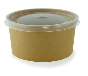 Round Bucket to Go - Kraft