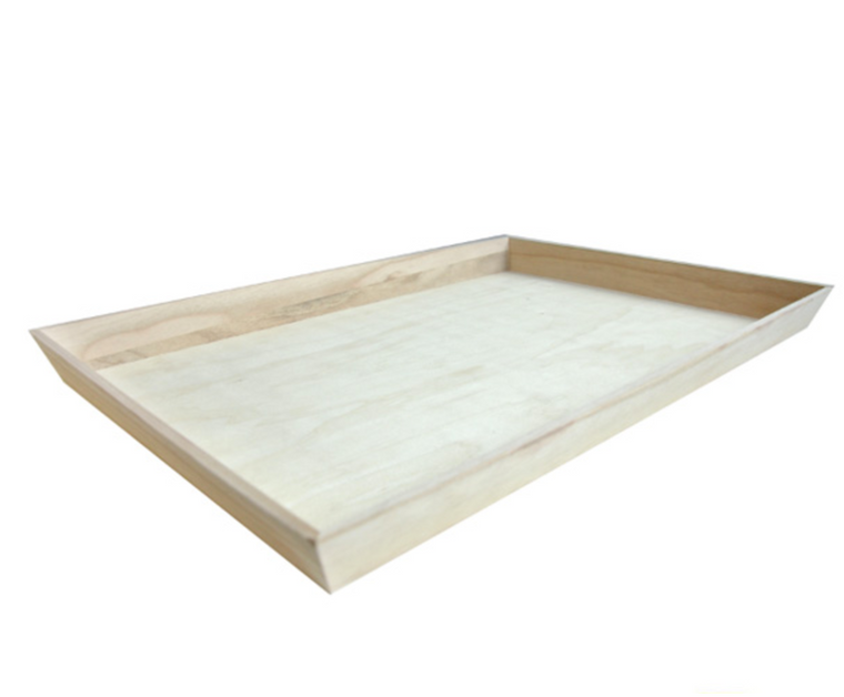 NOAH54 Heavy Duty Wooden Tray 21 x 14 x 1.6""