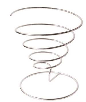 Spiral Stainless Steel Basket