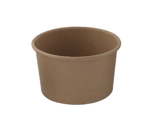 Brown Kraft Hot & Cold Paper Cup - 2.3 oz