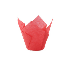 Red Silicone Baking Cup - 3 oz
