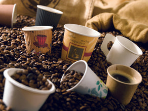 Compostable Paper Cups - Kraft Double Wall 16oz