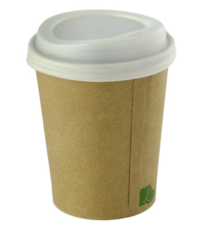 "Zen Kraft Recyclable Paper Cups - 12 oz Dia: 3.5"" H : 4.4"""