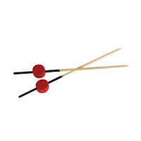 ATAMI - Red Bead Skewer - 3.1""