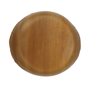Palmbowl Palm Leaf Round Bowl - Dia: 12 in H: 2.4 in