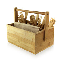 Bamboo Tool Box with Handle