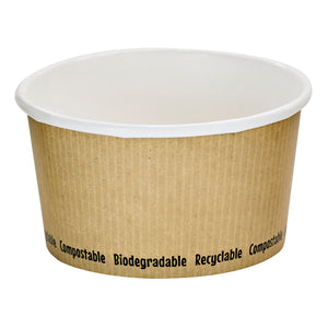 Compostable Soup Cups - 12oz
