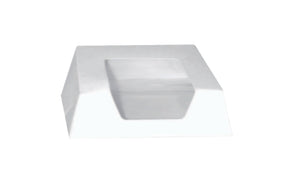 White Pastry Boxes with Window 5.5 in