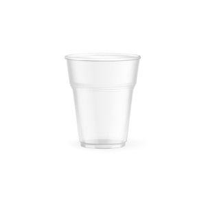 Biodegradable and compostable cold cups (corn) made from (PLA) an Eco friendly corn based resin - 6.5oz