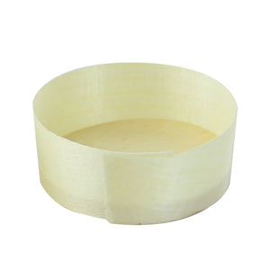 Mini Wooden Cup - D: 2in H: 0.75in
