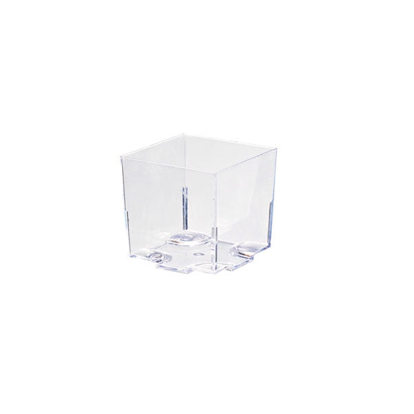 KARA Clear Cubic Mini Dish