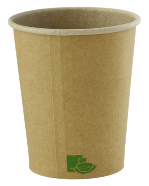 "Zen Kraft Recyclable Paper Cups - 4 oz Dia: 2.44"" H: 2.4"""
