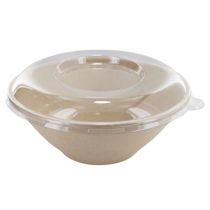 Clear PET round lid - D: 7.7 in