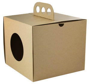 Brass Knuckles Take Out Lunch Box 6.9 x 6.9 x 5.9""