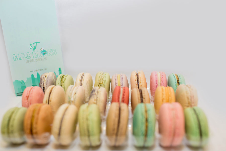 48 Piece Macaron Insert with Clip Closure