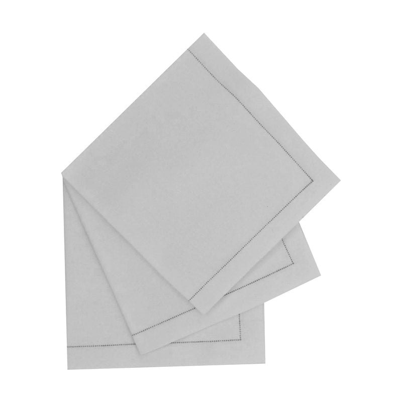 Luxury Sweet Cream Cotton Cocktail Napkin (Reusable)